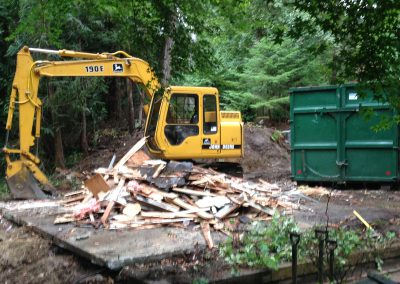 Demolition Job Completed || Jim Agnew || Cascade Dozing