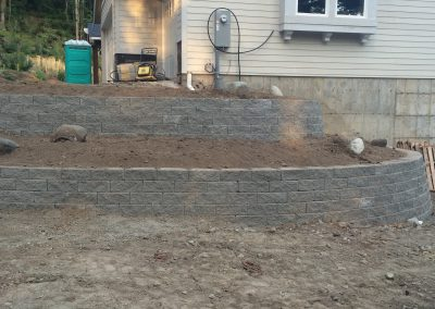 Grading and Retaining Wall || Cascade Dozing