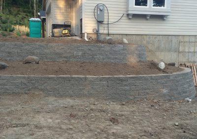 Grading and Retaining Wall || Cascade Dozing